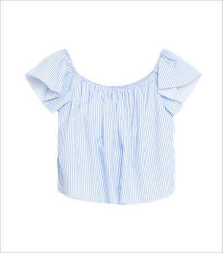 Zara Off-The-Shoulder Poplin Top_Hauterfly